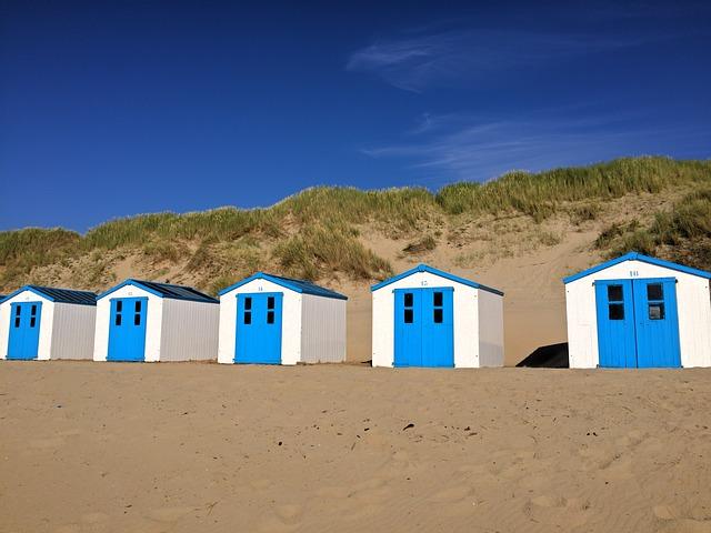 Camping am Strand in De Koog auf Texel