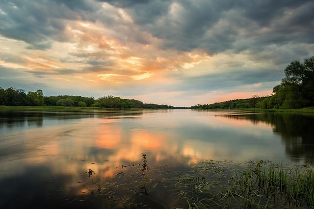 Camping an der Elbe