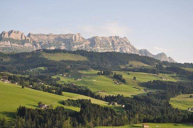 Camping in den Bergen der Ostschweiz