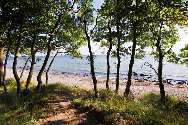 Karlshagen auf Usedom an der Ostseeküste