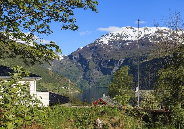 Camping am Geirangerfjord