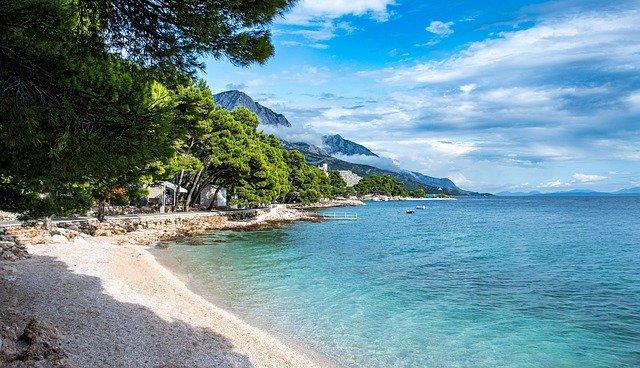 Camping an der kroatischen Adria