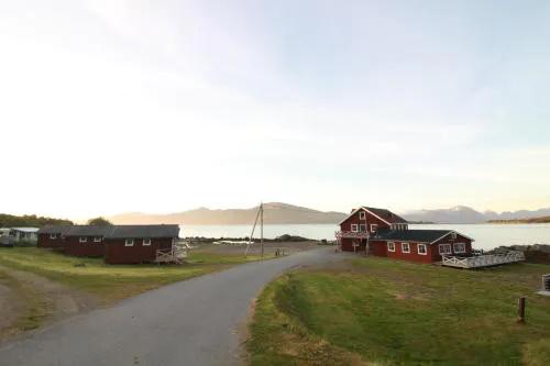 Toftenes Sjøhuscamping in Nordland in Norwegen